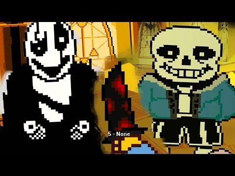 KILLING SANS AND GASTER || Yet Another Bad Time Simulator (Undertale Fan Game)