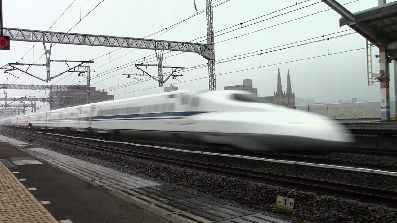 爆走!】JR西日本 新幹線N700系...