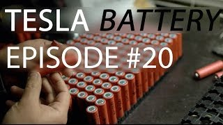 Making a DIY Tesla Battery - eSamba DIY EV conversion