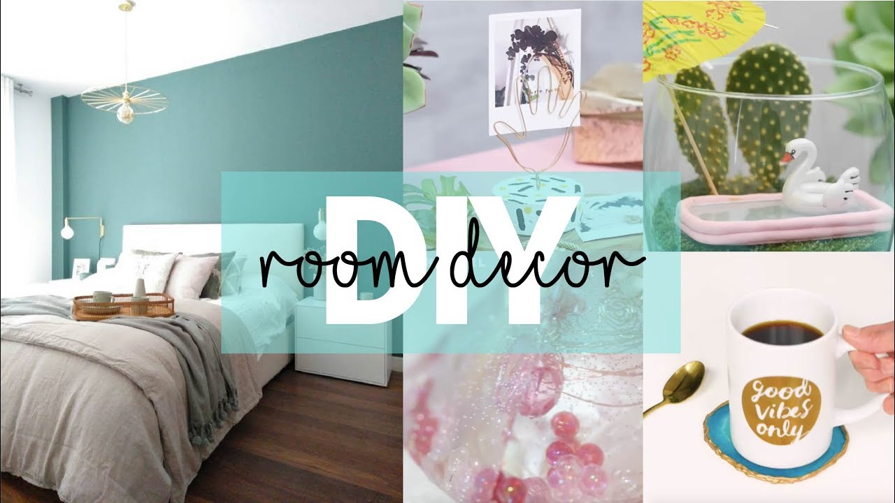 DIY ROOM DECOR 2020 I Ideas tumblr - YouTube on How To Decorate Your Room  id=46974