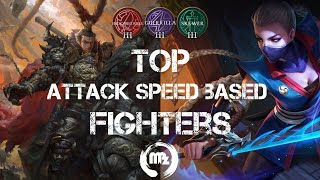 Top Attack speed Fighters- Arena of Valor - Airi + Lubu Offlane