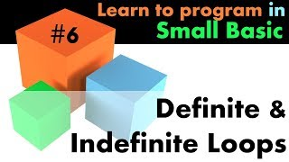 #6 Learn Small Basic Programming - Loops