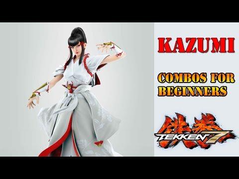 Tekken 7 - Kazumi Combos for Beginners