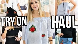 HUGE Summer Try On Haul!