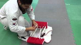 Another Way to tie a chestguard