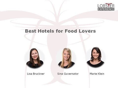 Best Hotels for Food Lovers