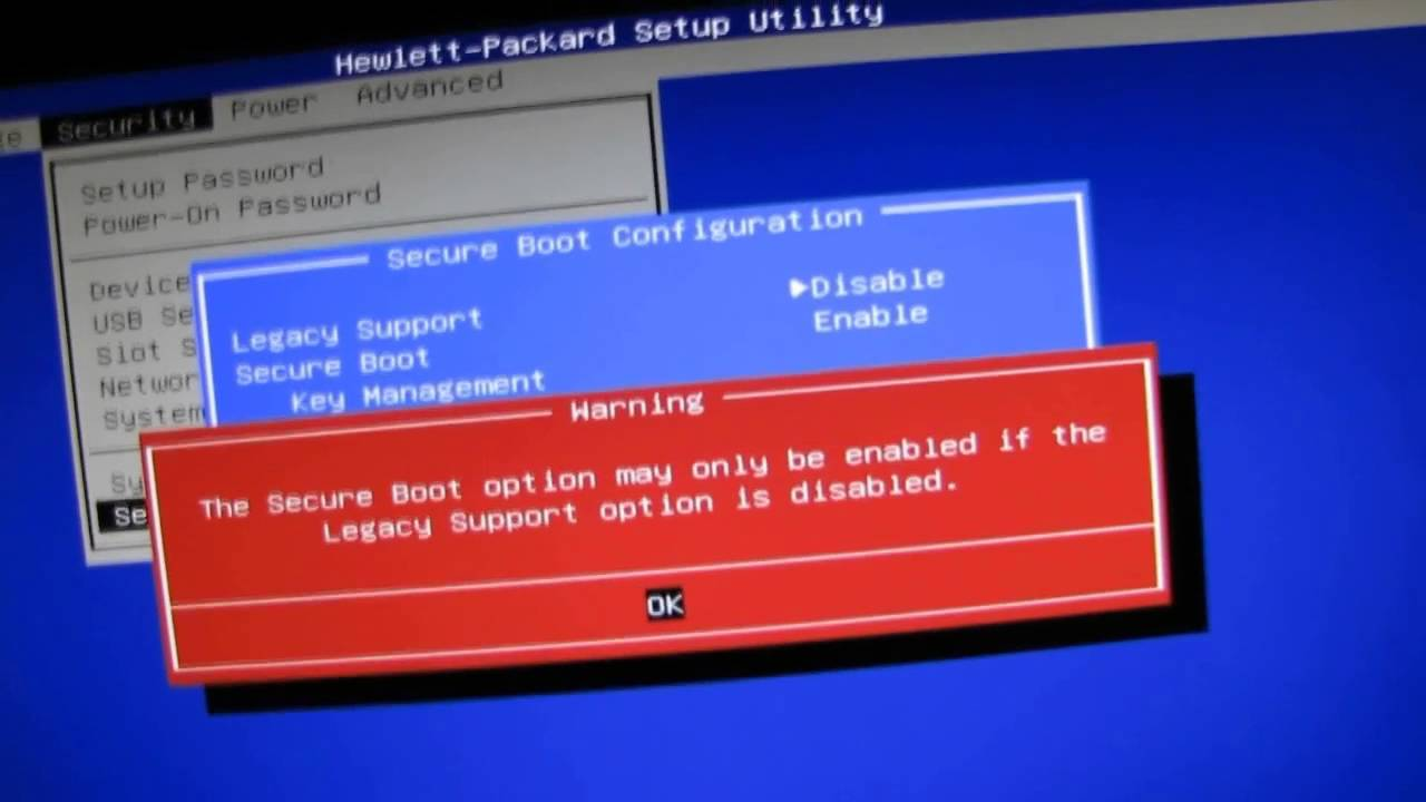 HP All in One Desktop PC How to Boot from a USB Flash Drive