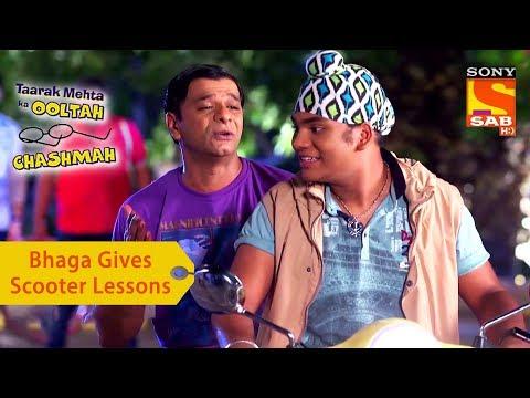 Your Favorite Character | Bhaga Gives Scooter Lessons To Tapu Sena | Taarak Mehta Ka Ooltah Chashmah