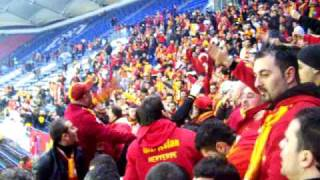 HSV : Galatasaray Uefa Cup Gästeblock ultrAslan