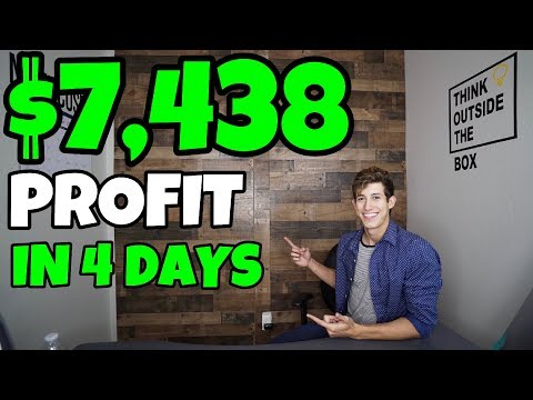 $7,438 PROFIT IN 4 DAYS TRADING STOCKS 2019