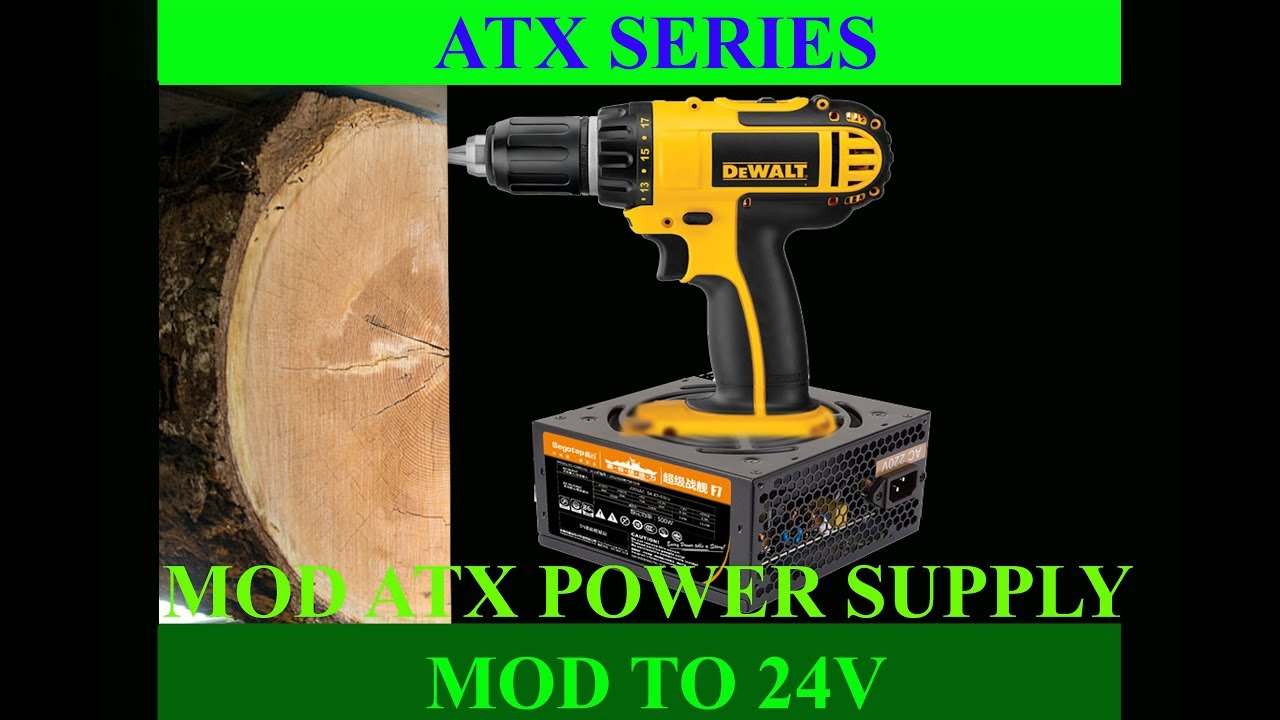 ATX Series: How To Mod ATX Power Supply to 24V 9A - Max Power
