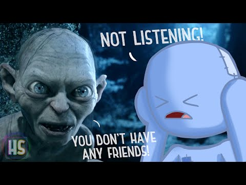 What can Gollum and Saruman teach us about the Ego?