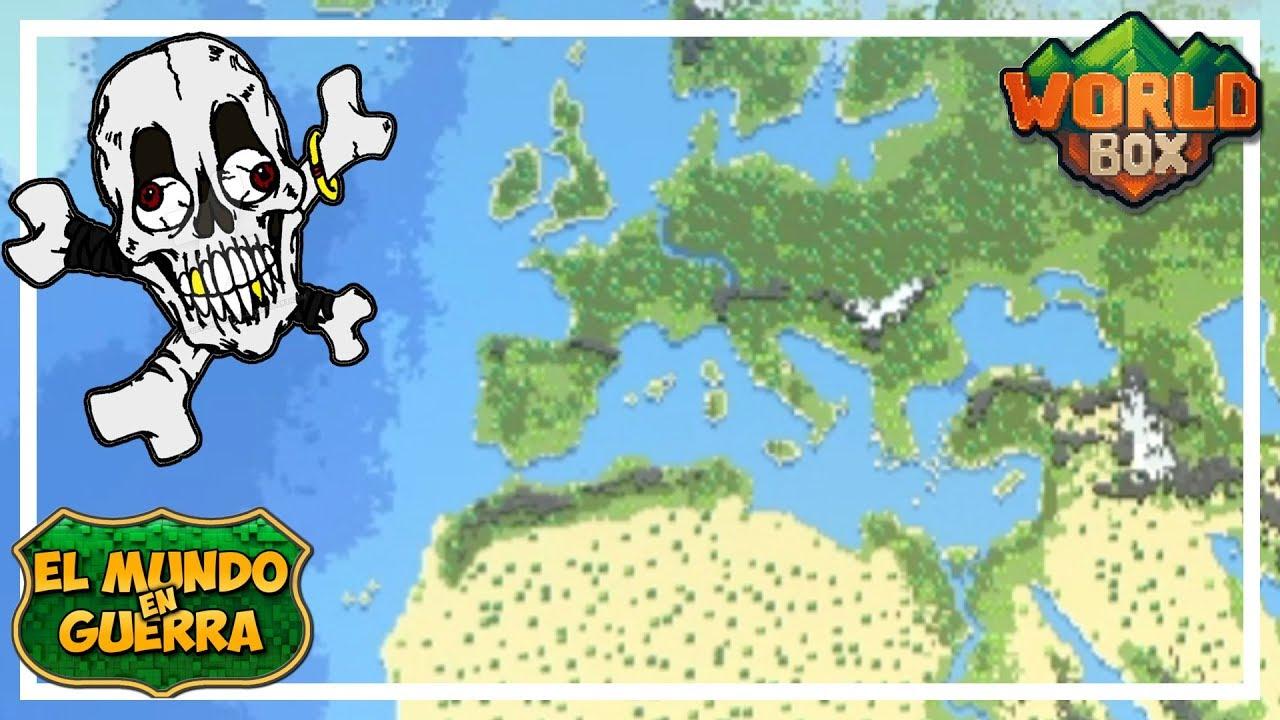 GUERRA DESCONTROLADA - EL MUNDO EN GUERRA Ep 5 - WORLD BOX Gameplay Español