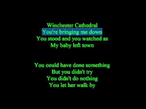 Winchester Cathedral Lyrics