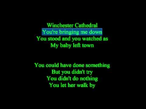 Winchester Cathedral Lyrics
