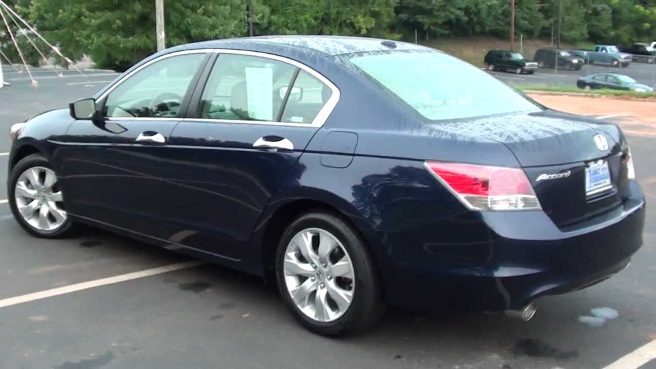 For Sale 2009 Honda Accord Ex L 3 5 1 Owner Stk