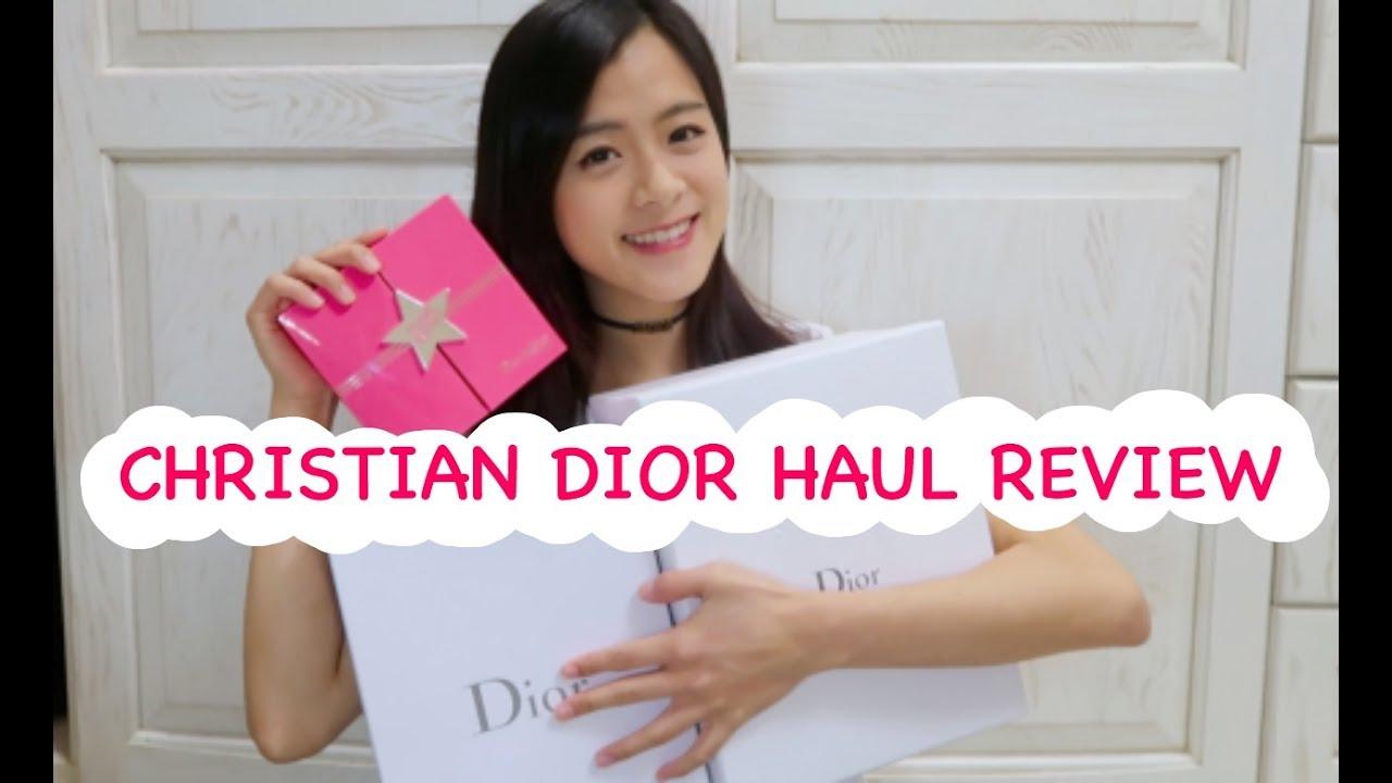 CHRISTIAN DIOR HAUL REVIEW!! 近期在迪奧燒到的彩妝和精品分享!