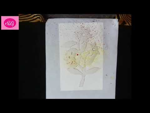 Spray Painting Tutorial | For Beginners | Drawing Video | Suryadeep Art Gallery