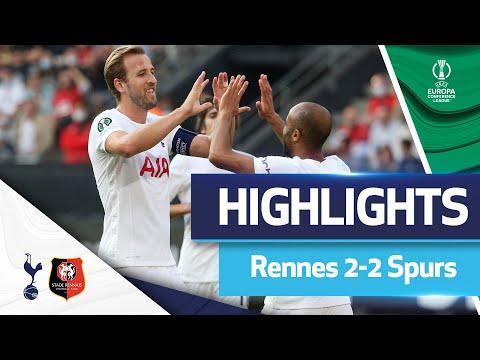 Højbjerg goal secures point in France! HIGHLIGHTS | Rennes 2-2 Spurs