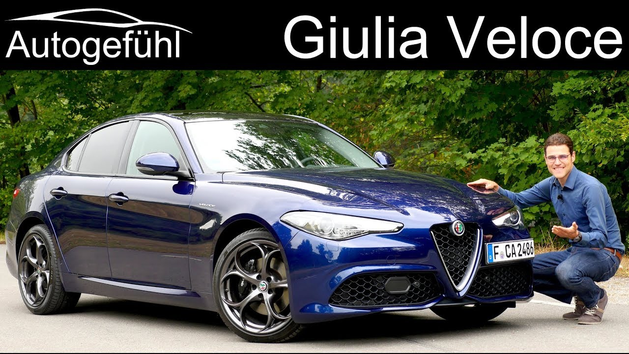 Alfa Giulia Veloce Full Review 2019 Autogefuhl Youtube