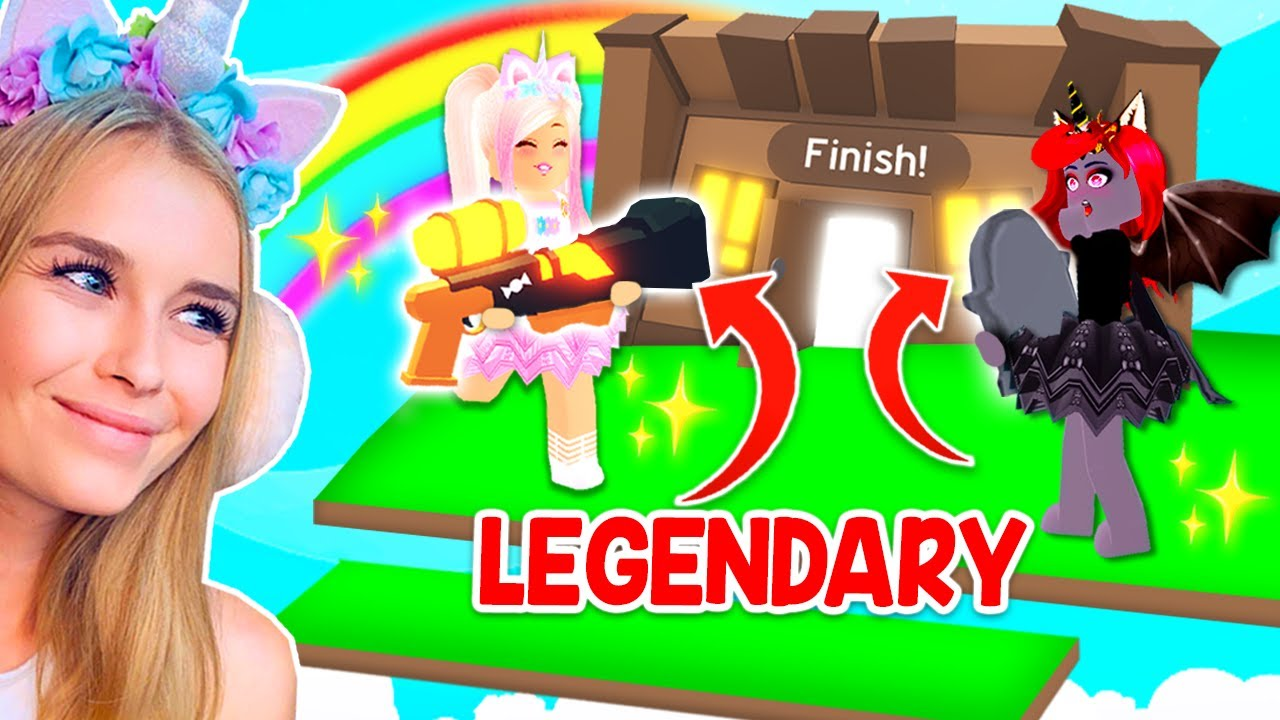 Finish The Obby To Earn Lot Of Rs Roblox This Secret Obby Gives You Legendary Items If You Complete It In Adopt Me Roblox Youtube