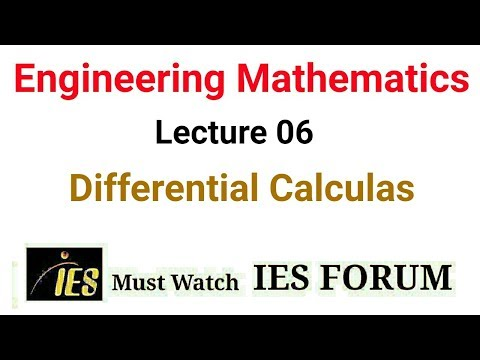 GATE Engineering Mathamatics Lecture 06 for GATE & IES and Graduate Level Exam