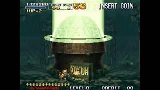 Metal Slug 3 (Arcade) - (Longplay - Marco Rossi | Level 8 Difficulty | All Secrets)