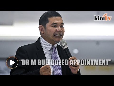 Rafizi: Dr M bulldozed minister trio appointment without consulting PKR