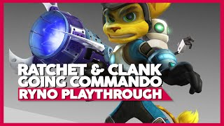 Ratchet And Clank 2 | RYNO Only Playthrough | PS3 60ᶠᵖˢ | No Commentary