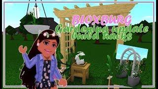 BLOXBURG GARDEN UPDATE DESIGN IDEAS | Welcome to Bloxburg | Roblox