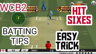 Batting Tips For Wcb2||Different batting tips||Now play easilyy screenshot 4