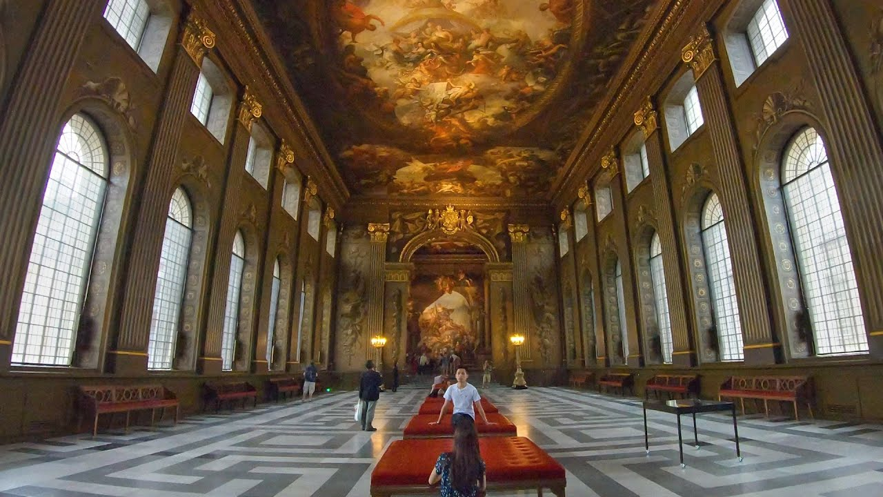 London Throwback Walk of MARITIME GREENWICH - Queen's House, National Maritime Museum & Painted Hall