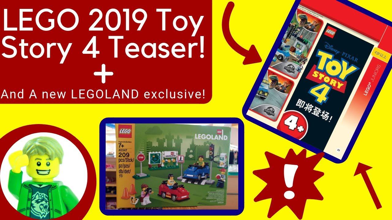 LEGO Toy Story 4 Set Teaser! + New LEGOLAND exclusive ...