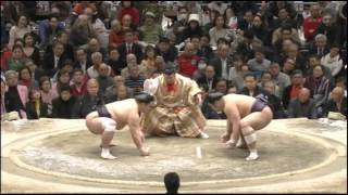 Sumo -Hatsu Basho 2015  Final Day, January 25th -大相撲初場所 2015年 千秋楽
