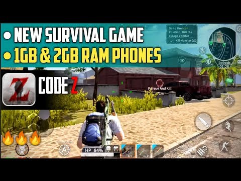 Code Z New Survival Game for 1gb and 2gb Ram Phones - Download for Android - 동영상