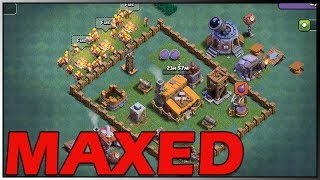 NEW Clash of Clans MAXED Builder Hall 3 Plus Best Base With Replays