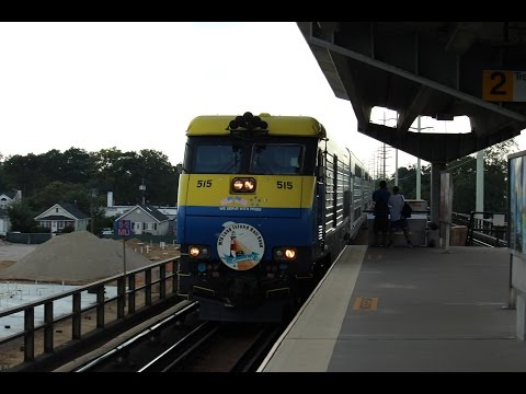 4K LIRR Friday Rush Hour ft #2798 at Copiague