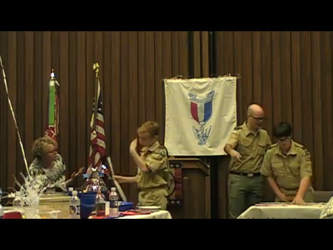 Eagle Scout Court of Honor Part 1