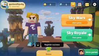 Playing skywars