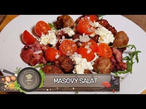 Masový salát