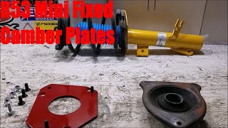 homepage tile video photo for R53 Mini Cooper S Fixed Camber Plates Install DIY (Part 2 of 2)