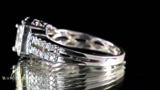Wilshire Boulevard, California 90010 1.50CTW PRINCESS DIAMOND RING BY WONDER JEWELERS
