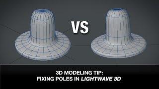 3D Modeling Tip - Fixing Poles in Lightwave 3D