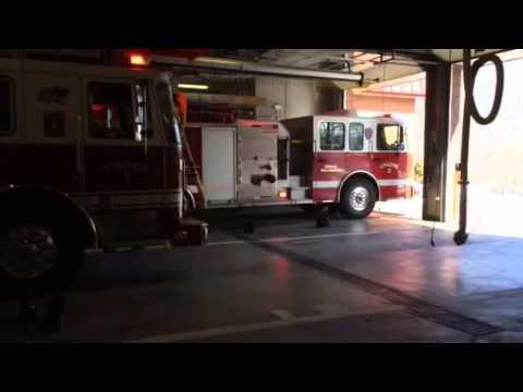 Wallingford ct. fire dept. responding