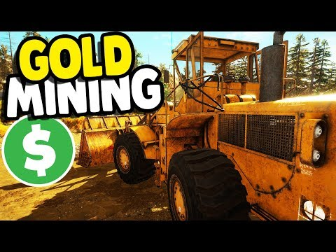 GOLD MINE FULL-SCALE OPERATION | Gold Rush: The Game Gameplay