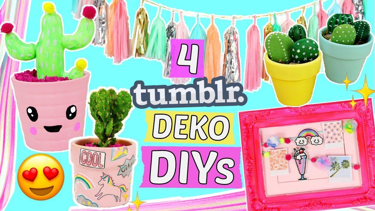 4 einfache tumblr deko diy ideen zimmer deko diys selber machen dekorieren basteln hacks. Black Bedroom Furniture Sets. Home Design Ideas