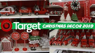 TARGET CHRISTMAS DECOR 2019 * SHOP WITH ME