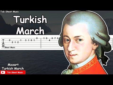 Mozart - Turkish March (Rondo Alla Turca) Guitar Tutorial