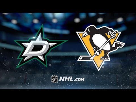 Crosby, Malkin lead Penguins past Stars, 3-1