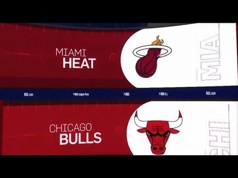 Chicago Bulls vs Miami Heat Game Recap | 1/19/19 | NBA